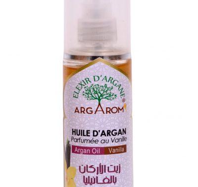huile d'argan parfumée au vanille