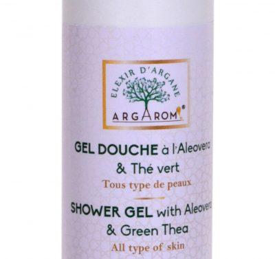 gel douche a l'aloe vera & thé vert