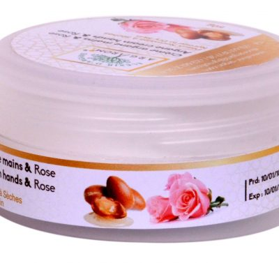 creme argan main & rose